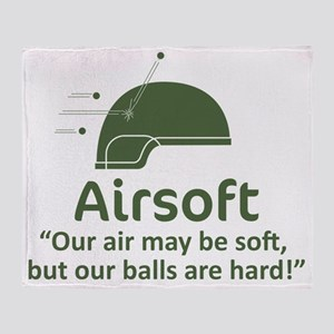 Hard Balls - OD Throw Blanket