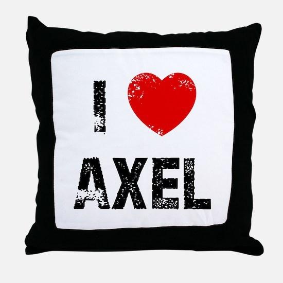 I * Axel Throw Pillow
