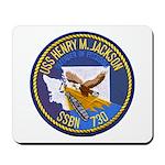 USS HENRY M. JACKSON Mousepad