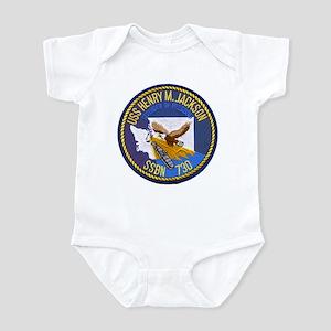 USS HENRY M. JACKSON Infant Bodysuit