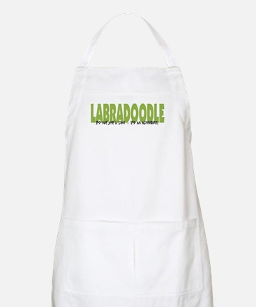 Labradoodle IT'S AN ADVENTURE BBQ Apron