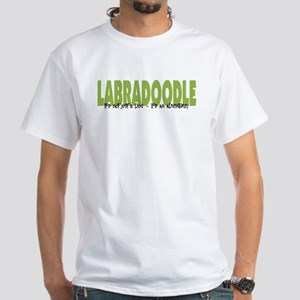 Labradoodle IT'S AN ADVENTURE White T-Shirt