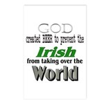 God, The Irish & Beer Postcards (Package of 8)