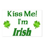 Kiss Me I'm Irish Postcards (Package of 8)
