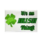 It's An Irish Thing Rectangle Magnet
