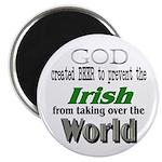 God, The Irish & Beer Magnet
