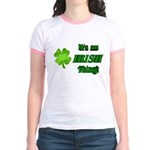 It's An Irish Thing Jr. Ringer T-Shirt
