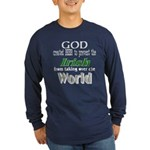 God, The Irish & Beer Long Sleeve Dark T-Shirt