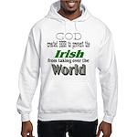 God, The Irish & Beer Hooded Sweatshirt