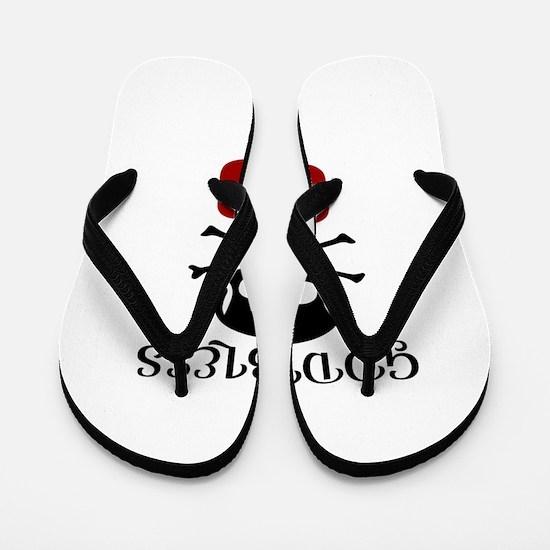Godbless 03 Birthday Designs Flip Flops