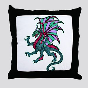 Dragon Dragon Throw Pillow