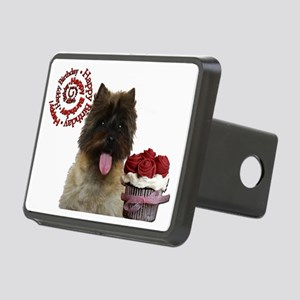 Cupcake Card Rectangular Hitch Cover