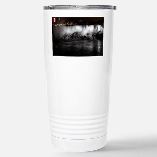 Niagara Falls night Stainless Steel Travel Mug