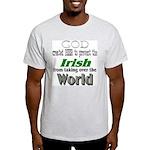 God, The Irish & Beer Light T-Shirt
