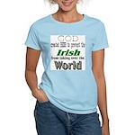 God, The Irish & Beer Women's Light T-Shirt
