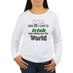 God, The Irish & Beer Women's Long Sleeve T-Shirt