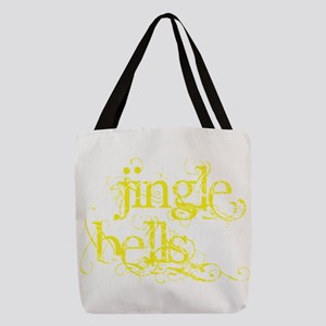 Jingle Bells Polyester Tote Bag