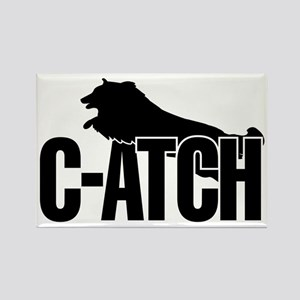 C-ATCH Sheltie Rectangle Magnet