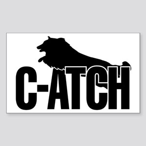 C-ATCH Sheltie Sticker (Rectangle)