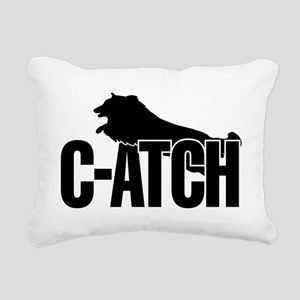 C-ATCH Sheltie Rectangular Canvas Pillow