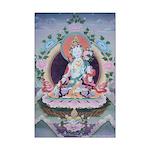 White Tara Mini Poster