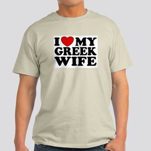 I love My Greek Wife Light T-Shirt