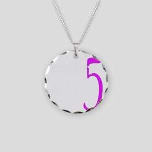 baby5W Necklace Circle Charm