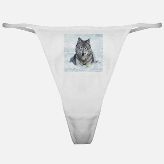 Wolf Classic Thong