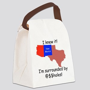 I Knew It! Canvas Lunch Bag