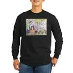 Thinking Outside the Box Long Sleeve Dark T-Shirt