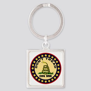 Dont Tread On Me Square Keychain
