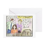 Thinking Outside the Box Greeting Cards (Package o