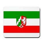 North Rhine Westphalia Flag Mousepad