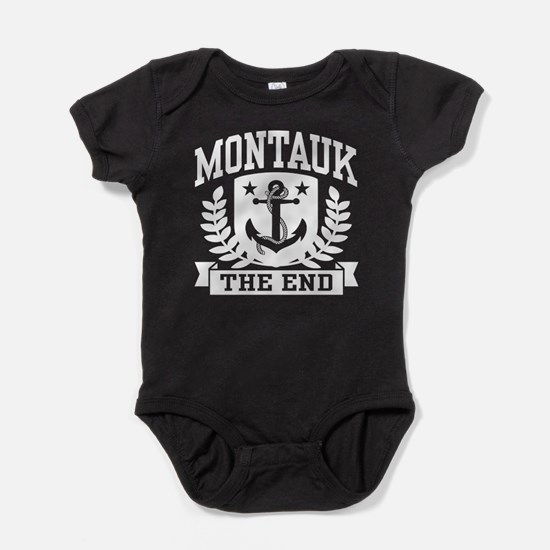 Montauk The End Baby Bodysuit