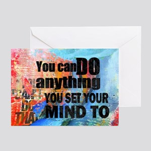 YOU CAN DO ANYTHING Greeting Cards (Pk of 10)