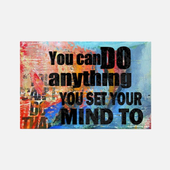 YOU CAN DO ANYTHING Rectangle Magnet (10 pack)