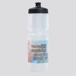 YOU CAN DO ANYTHING Sports Bottle
