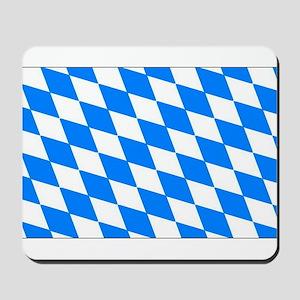 Bavaria Flag Mousepad