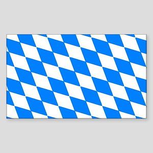 Bavaria Flag Rectangle Sticker