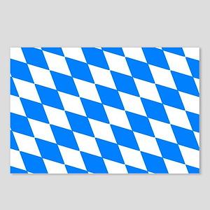 Bavaria Flag Postcards (Package of 8)