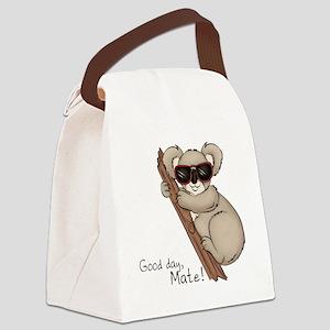 Koala Bear Canvas Lunch Bag