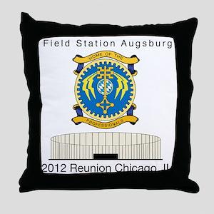 FSAv3_Reunion_Tshirt_Ch Throw Pillow
