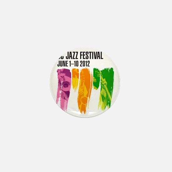 DC Jazz Festival 2012 Mini Button