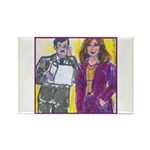 Confidence Rectangle Magnet (100 pack)