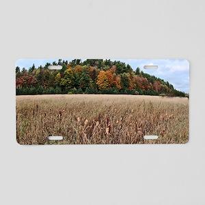 Adirondacks in Fall Aluminum License Plate