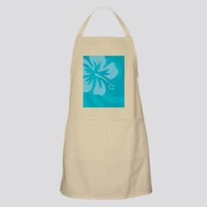 Hibiscus Light Blue Car Magnet Apron