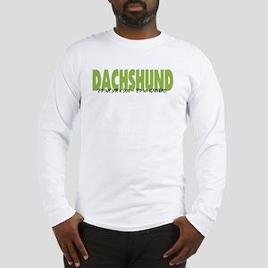 Dachshund ADVENTURE Long Sleeve T-Shirt