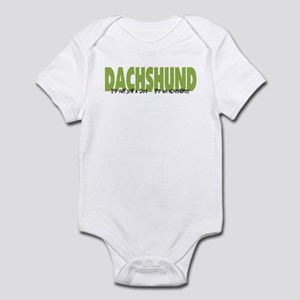 Dachshund ADVENTURE Infant Bodysuit