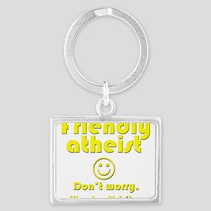 friendly-atheist-nobite-dark Keychains