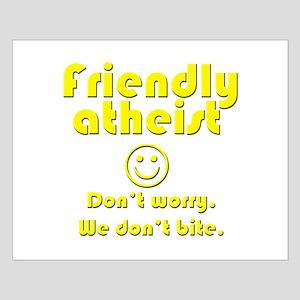 friendly-atheist-nobite-dark Posters